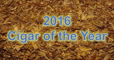 2016 Cigar of the Year-A Compendium of Magazine Ratings