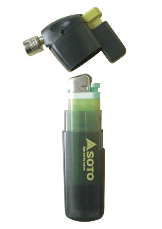 Soto Pocket Torch Disassembled