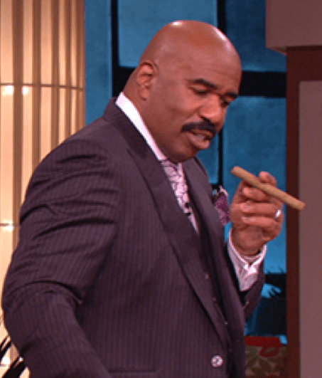 Steve Harvey offers sage advice on cigar smoking