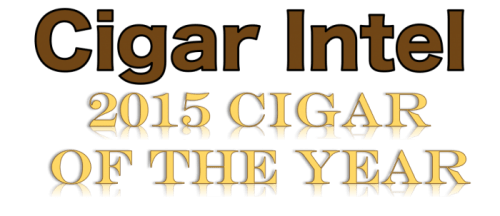2015 Cigar Intel Cigar of the Year