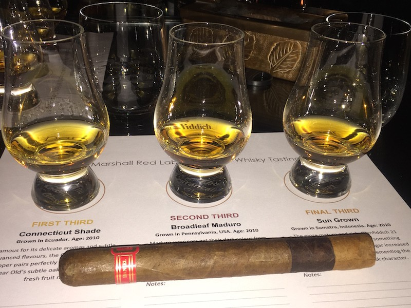 Daniel Marshall Unveils Innovative Whisky Tasting Cigar for Glenfiddich