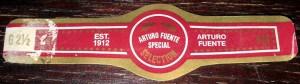 Arturo Fuente Special Selection Band