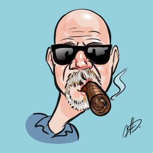 Smokey Butts Caricature