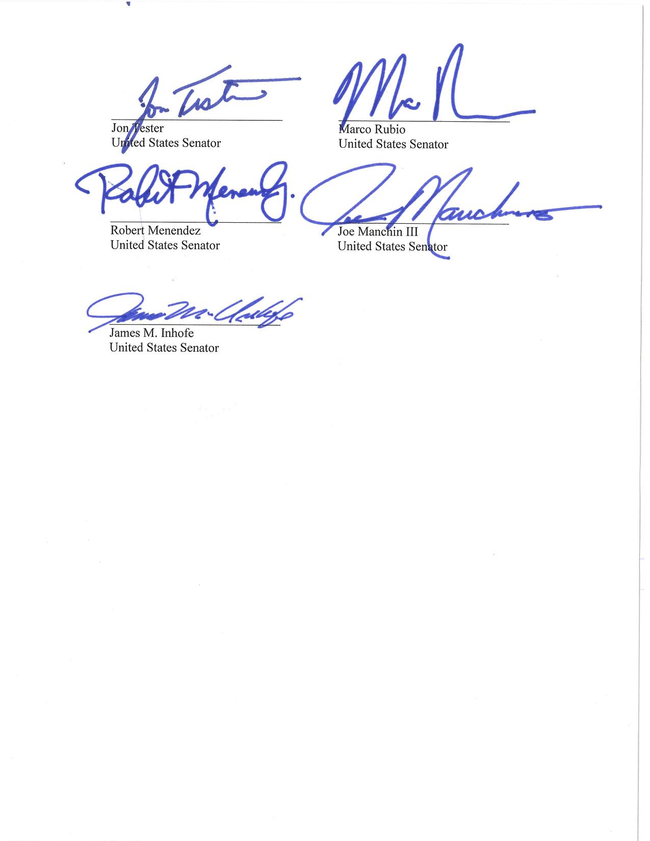On June 7th, 2016, seven U.S. Senators questioned the Food and Drug Administration's (FDA) regulation of premium cigars.
