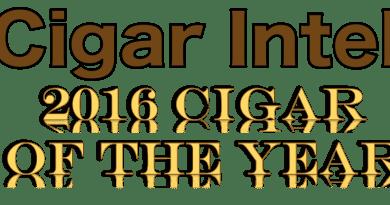 Cigar Intel 2016 Cigar of the Year
