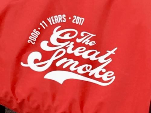 The Great Smoke-Commemorative Bag
