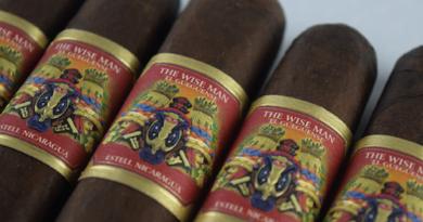 The Wise Man Maduro Cigar Band Closeup