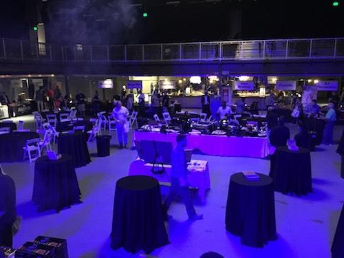 Smoklahoma-Center of Event Area