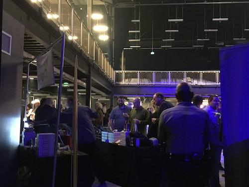 Smoklahoma-View of Entry to VIP Area