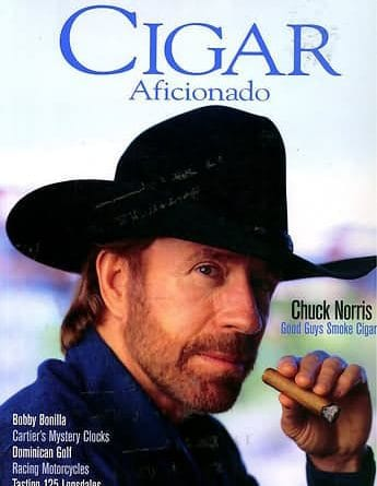 Cigar Aficionado's 25th Anniversary Cover Challenge